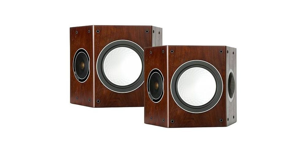 monitor audio silver fx walnut altavoz trasero roble
