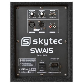 SkyTec SWA15 Subwoofer activo PA 15