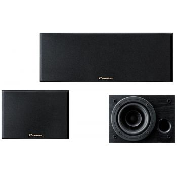 Pioneer SESR2-CR Altavoz Central y 2 Traseros para Home Cinema