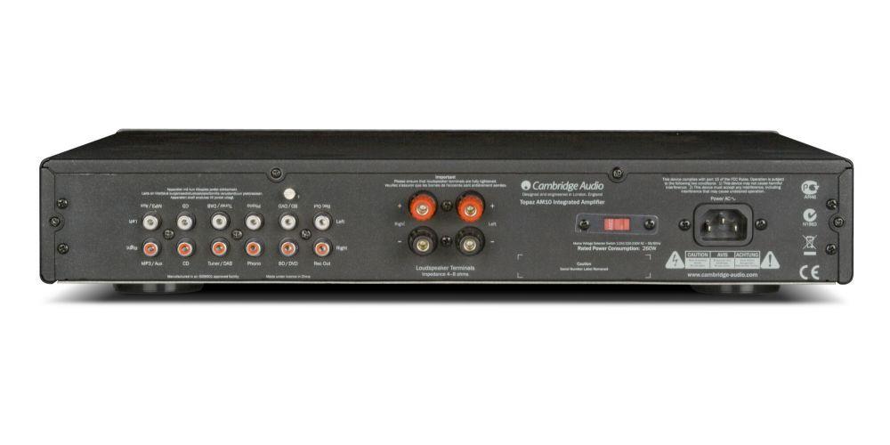 cambridge audio topaz am10 conexiones