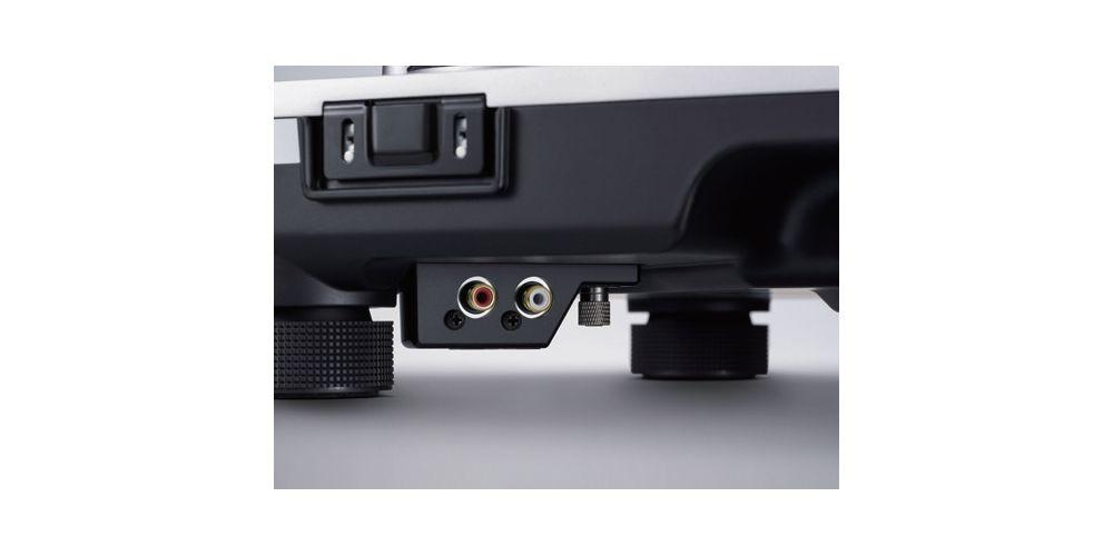 technics sl1210gr egs negro giradisco profesional detalle conexion