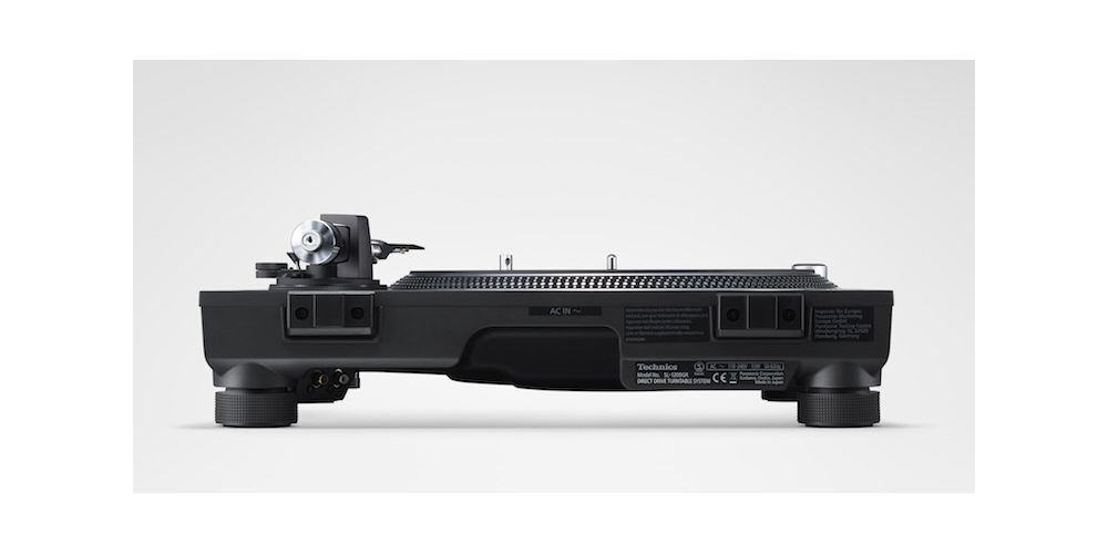 technics sl1210gr egs negro giradisco profesional