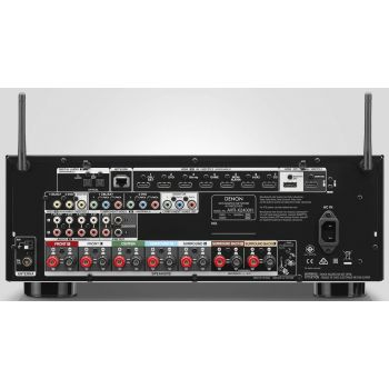 DENON AVR-X2400+Bose AM-6V Black
