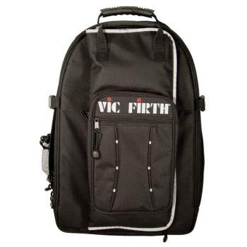 Vic Firth VicPack Drummers Backpack Mochila con bolsa para baquetas desmontable