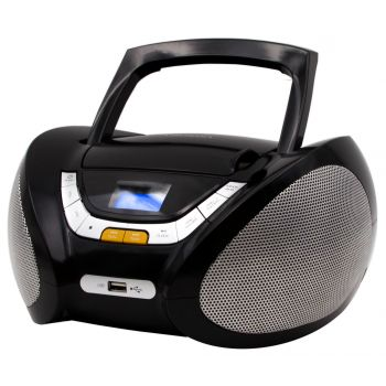 Lauson CP445 Radio CD USB negro