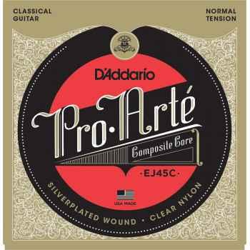 D´addario EJ45C Pro Arte Composite Hard. Juego Cuerdas para Guitarra Clásica