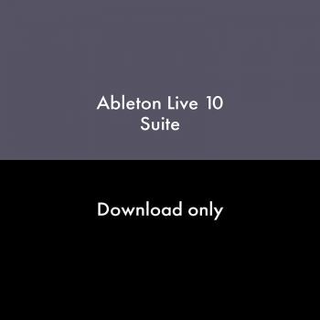 ABLETON Live 10 Suite Educacional Descarga