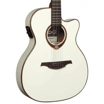 LAG T118ASCE-IVO Guitarra Electroacústica con Cutaway Tipo Auditorium Serie Tramontane