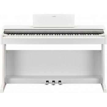 YAMAHA YDP-144WH Blanco ARIUS Piano Digital Compacto con Teclado GHS