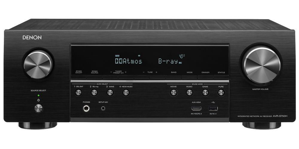 denon avr s750h receptor audio video home cinema avrs750h athmos