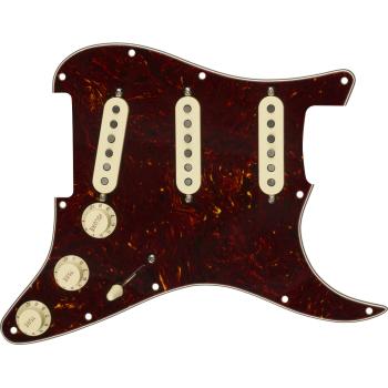 Fender Golpeador Pre-Wired Strat Custom Shop Fat 50s SSS Tortoise Shell