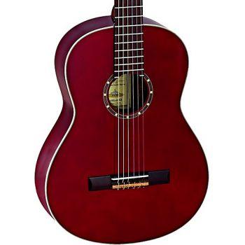 Ortega R121WR Guitarra Clásica Family Series 4/4 Wine Red
