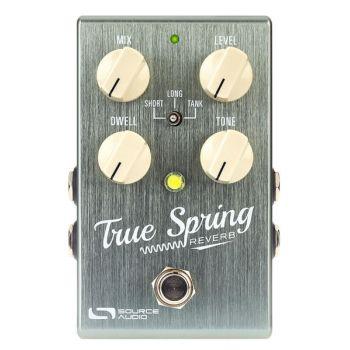Source Audio SA247 True Spring Reverb Pedal Para Guitarra y Bajo