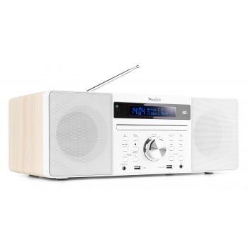Audizio Prato Sistema Musical Todo en uno DAB + CD + BT Color Blanco