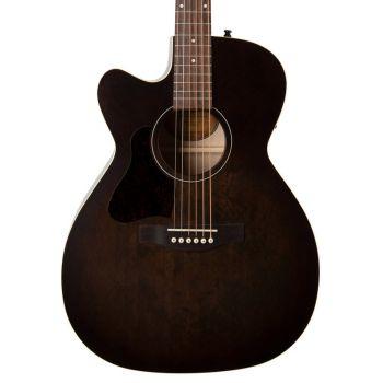 Art & Lutherie Legacy Left Bourbon Burst CW Q1T. Guitarra Acústica para Zurdo
