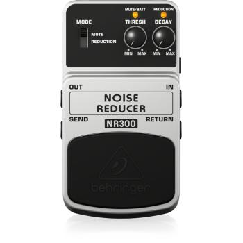 BEHRINGER NR300 Pedal  Guitarra Efecto Noise Reducer Behringer NR-300