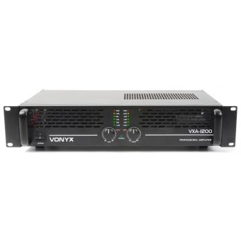 Vonyx VXA-1200 II Amplificador PA  2x 600W 172052