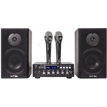 LTC STAR4 Mk2 Conjunto Karaoke 2 x 75 W Bluetooth ( REACONDICIONADO )
