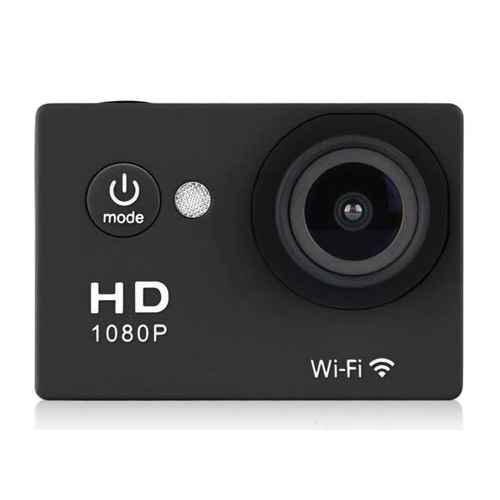 STIMA SPORTCAM HD 1080p WiFi Negra. Sumergible 30m
