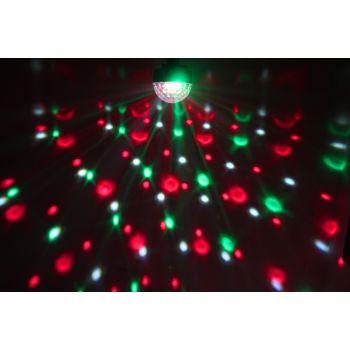 max 153225 Max Magic Jelly DJ Ball Activada por sonido 6x 1W LED