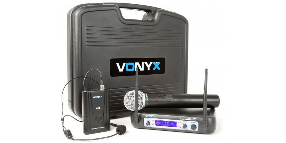 VONYX WM512C Microfono Inalambrico Doble 179223