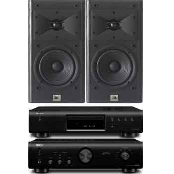 DENON PMA-520-BK+DCD520-BK- JBL ARENA-120