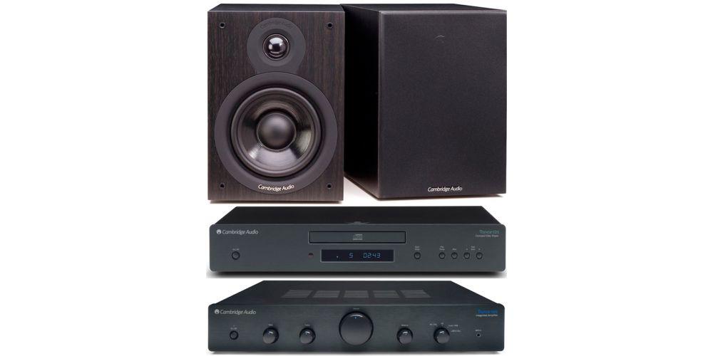 cambridge audio topaz am5 cd5 sx50 black