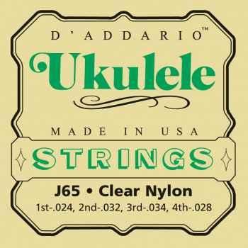 D´addario EJ65 S cuerdas para ukelele Soprano