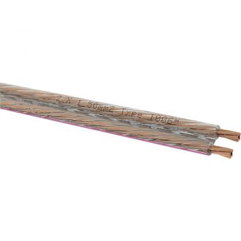 Oehlbach Speaker Cable 2x1,50mm Clear 20 metros Spool