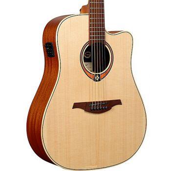LAG T170DCE Guitarra Electro Acústica Dreadnought con Cutaway