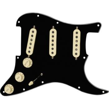 Fender Golpeador Pre-Wired Strat Tex-Mex SSS Black