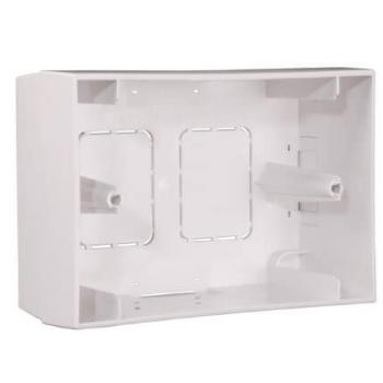 Apart Biamp BB1 Caja de montaje para el panel remoto PM1122R y ZONE4R, blanco