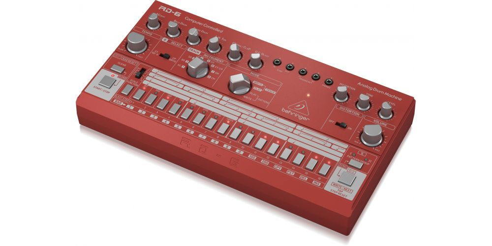 behringer rd 6 rd controles