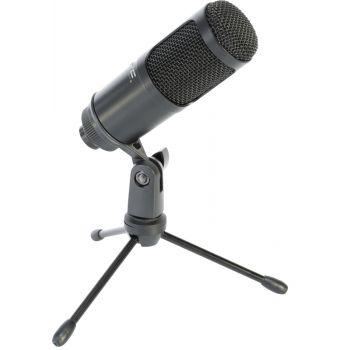 LTC STM100 Micrófono USB para Grabación, Streaming y Podcast