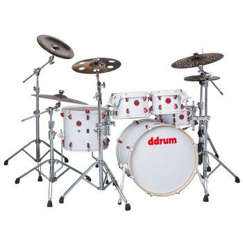 Ddrum Hybrid 5 Kit White. Set Batería Acústica