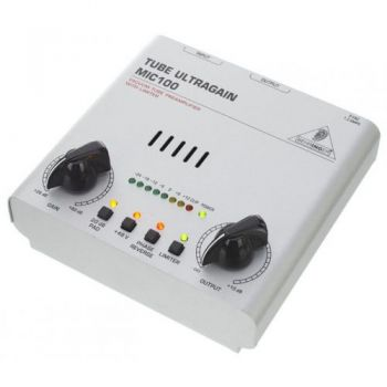 BEHRINGER MIC100 Pre-Amplificador Micro Behringer MIC-100 Und ( REACONDICIONADO )