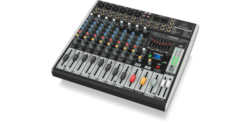 behringer X1222USB xenyx front