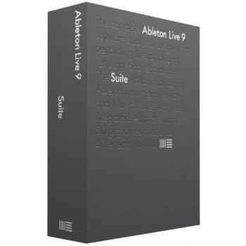 ABLETON LIVE 9 SUITE EDITION Suite de Creacion Musical  85624