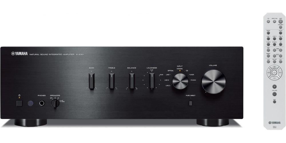 yamaha a s301 amplificador black mando distancia