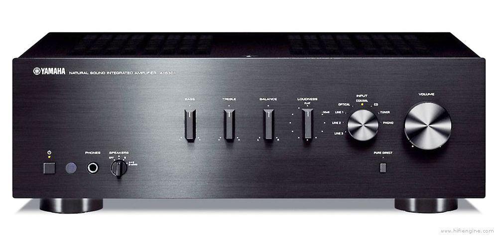 yamaha a s301 stereo amplificador hifi