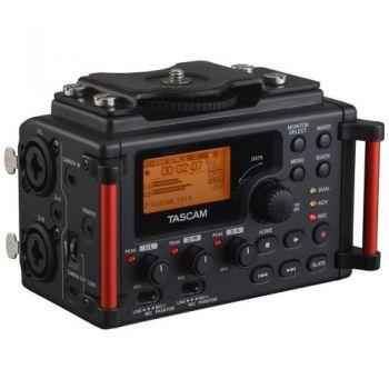 TASCAM DR-60DMK2 Grabador con mezclador integrador para DSLR