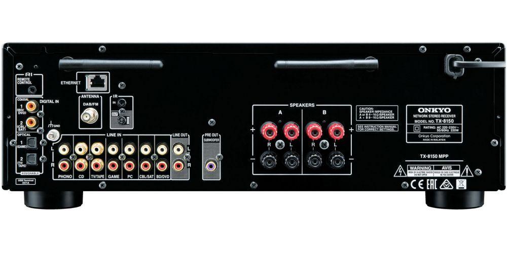 onkyo tx 8150 conexiones black