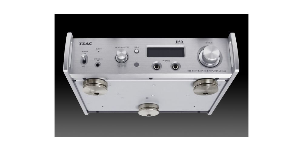 TEAC UD-503 S Conversos D/A , DUAL/MONO, USB Streaming, Silver