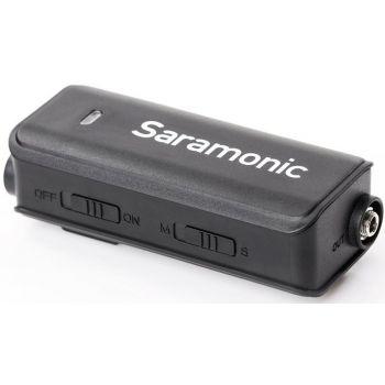 Saramonic LavMic Micrófono Lavalier con Mezclador de Audio