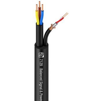 Adam Hall 7129 Cable eléctrico/de señal 1 Metro Lineal