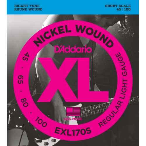 D´addario EXL170S   XL Nickel Wound Escala Corta