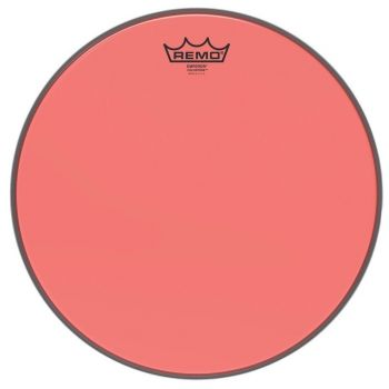 Remo 14 Emperor Colortone Red BE-0314-CT-RD