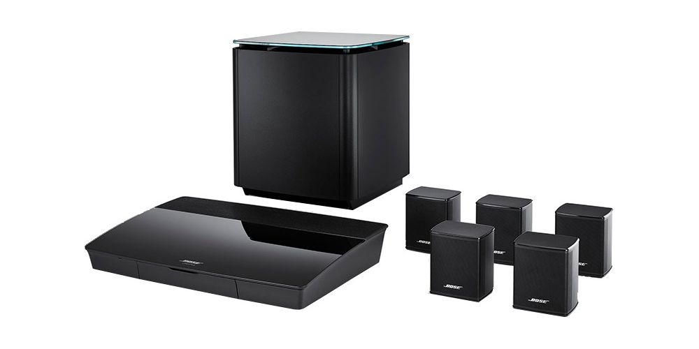 bose lifestyle 550 sistema sonido wifi bluetooth satelites conjunto