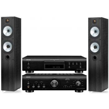 Denon PMA-800AE Black+DCD800 Black+MR4 Black Conjunto sonido