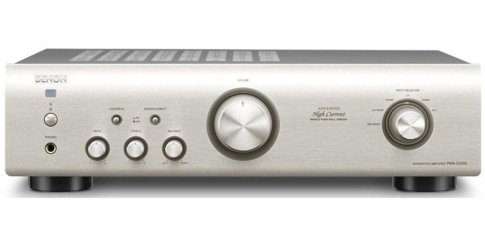 denon pma520 silver amplificador hifi estereo